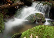Free Waterfall In Bohemia Stock Photo - 8108490