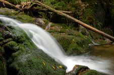 Free Waterfall In Bohemia Stock Images - 8108504