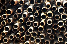 Free The Iron Tubes Royalty Free Stock Images - 8108829