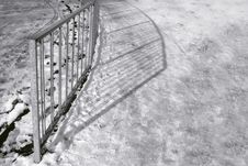 Free Railing Shadows Stock Photo - 8108850
