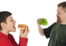 Diet Suffering Stock Photos