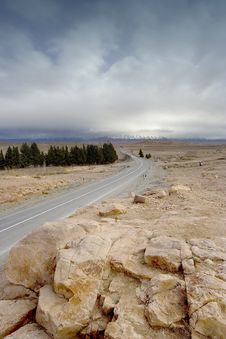 Free Road Morocco Royalty Free Stock Image - 8109506
