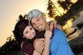 Free Tropical Happy Couple Stock Photo - 8112520