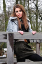 Free On A Bridge Royalty Free Stock Photography - 8114217