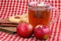 Free Apple Cinnamon Tea Royalty Free Stock Photos - 8118298