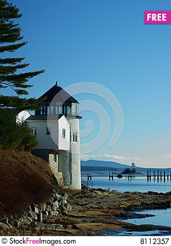 Free Unknown Lighthouse Royalty Free Stock Photography - 8112357