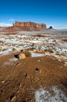 Free Monument Valley Stock Image - 8110201