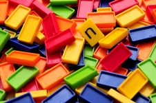 Free Colored Blocks Stock Photo - 8110290