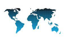 Free Dot World Royalty Free Stock Images - 8111319