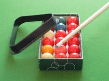 Free Snooker Equipment Stock Photo - 8111430