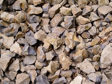 Free Multiple Broken Flint Rocks Background Stock Images - 8111434