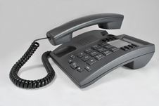 Free Office Phone With Lifted Tube Stock Photo - 8111510