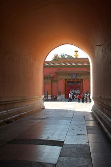 Free Palace Museum Gate Royalty Free Stock Photo - 8111645