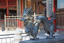 Free A Dragon In The Palace Museum Royalty Free Stock Image - 8111796
