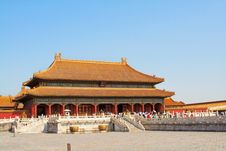 Palace Museum Scenery Royalty Free Stock Images