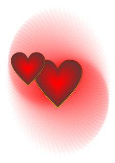 Free Two Hearts Stock Photos - 8112033