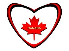 Free Maple Leaf, Symbol Of Canada. Royalty Free Stock Photos - 8112078