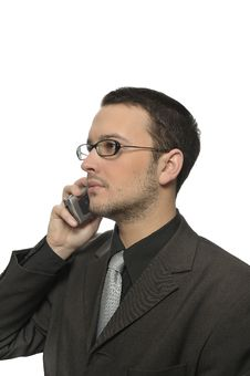 Business Phone Call Stock Images