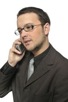 Business Phone Call Royalty Free Stock Photo