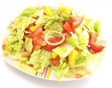 Free Salad Royalty Free Stock Photo - 8112465