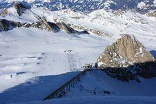 Free Austria. Mountains. The Alpes. Royalty Free Stock Photography - 8112857