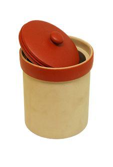 Free Cookies Ceramic Jar Royalty Free Stock Photo - 8112925