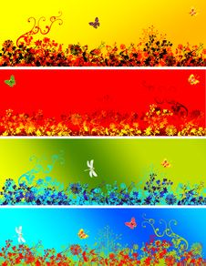 Free Spring Banner Stock Photo - 8112980
