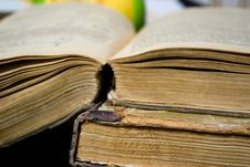 Free Old Books Royalty Free Stock Photography - 8113277