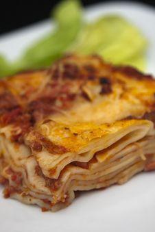 Free Lasagna Royalty Free Stock Image - 8114116