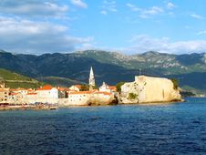 Old Town In Budva Stock Images