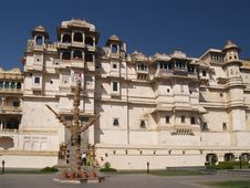 Free Udaipur City Palace Stock Photography - 8115192
