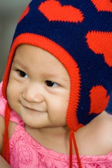 Free Baby Adorable Smile Royalty Free Stock Photography - 8115687
