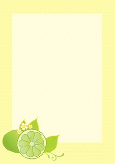 Lime Background Stock Photography