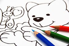 Free Pencil Draw Stock Photography - 8116682
