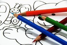 Free Pencil Draw 2 Stock Photography - 8116712
