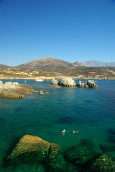 Free Corsica Water Royalty Free Stock Photo - 8116905