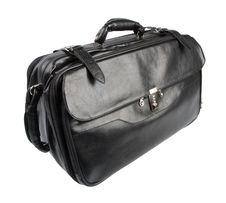 Free Black Leather Bag Stock Photography - 8116912
