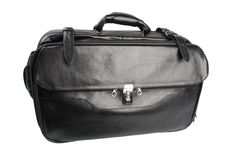 Free Black Leather Bag Royalty Free Stock Photography - 8116917