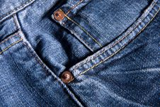 Free Jeans Detail Royalty Free Stock Image - 8116956
