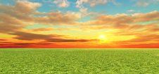 Free Beautiful Sunset Royalty Free Stock Photos - 8117428