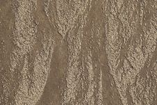 Free Sand Pattern On Ocean Beach Stock Images - 8117614