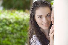 Free Summer Portrait Stock Photography - 8118832