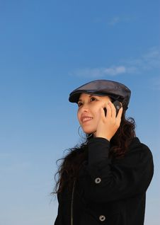 Free Woman On The Phone Stock Photos - 8118873