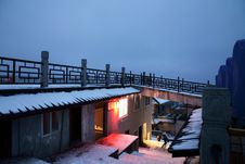Free A Small House On Emei Moutain Royalty Free Stock Images - 8119219