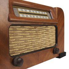 Free Vintage Radio Royalty Free Stock Images - 8119329