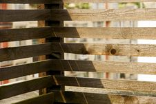 Free Wood Bars Stock Photography - 8119972