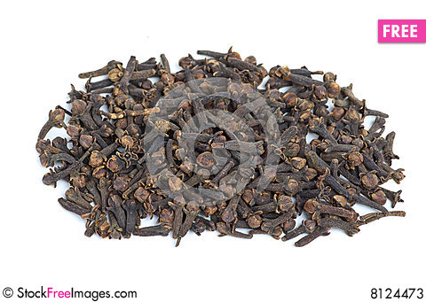 Free Pile Of Cloves Stock Photos - 8124473