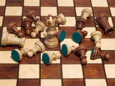 Free Chess Battle Stock Image - 8120371