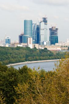 Free Skyscraper In Moscow Stock Image - 8120561