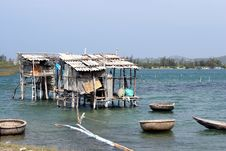 Free Vietnam Fishing Hut Stock Image - 8120601